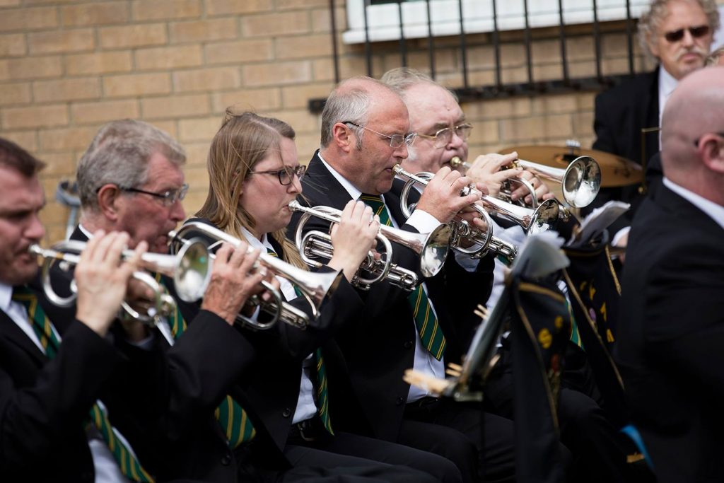 Booking the Foss Dyke Brass Band may be more affordable than you'd imagine!