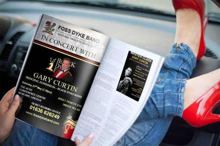 In concert with Gary Curtin magazine article
